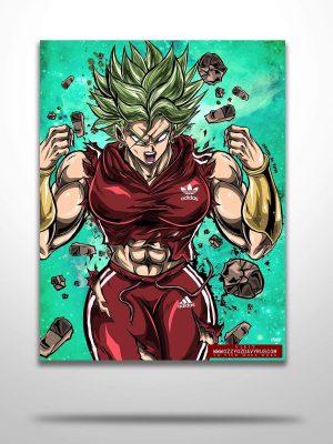Kale x Adidas Poster