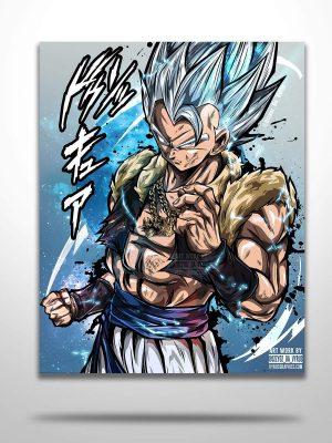 Gogeta Mastered Poster