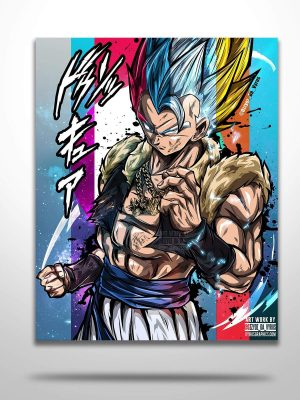 Gogeta All Forms Poster