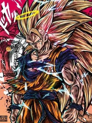 Super Saiyan 3 Poster