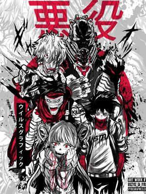 MYH Villains Poster