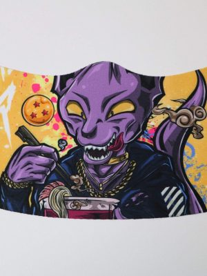 Beerus  WASHABLE AND REUSABLE FACE MASK COVER